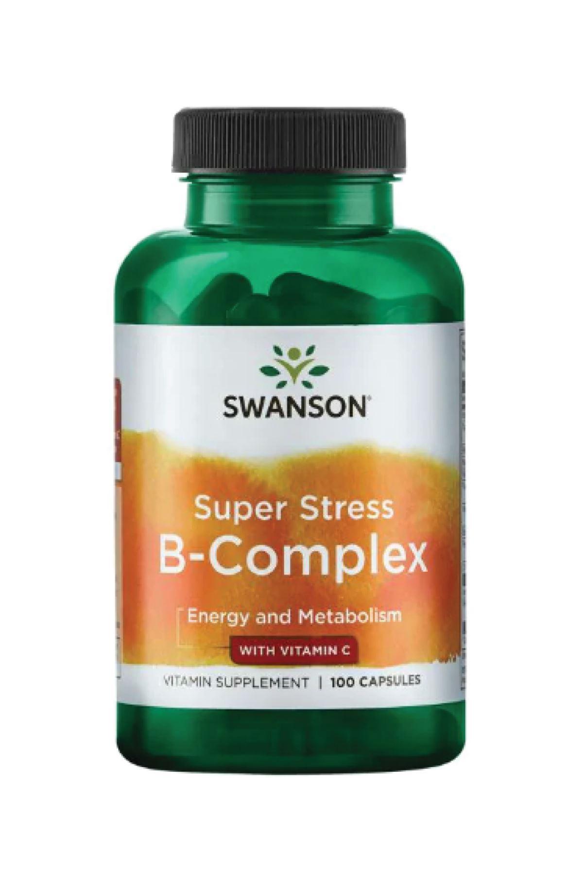 Super Stress B-Complex with Vitamin C