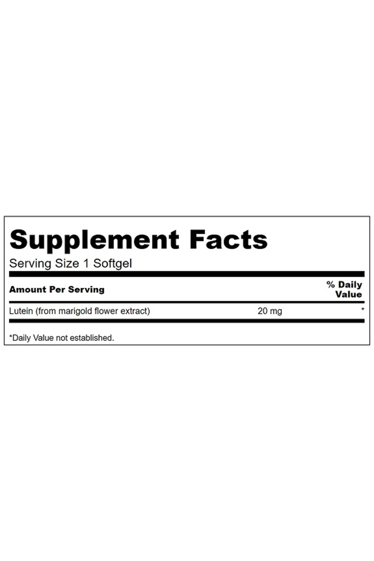 Lutein - High Potency